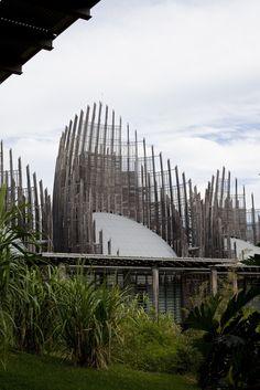 Jean-Marie Tjibaou Cultural Centre, Renzo Piano