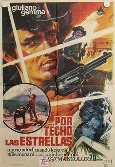 """A Sky Full of Stars for a Roof (1968) """"...e per tetto un cielo di stelle"""" (original title) ~ Stars: Giuliano Gemma, Mario Adorf, Magda Konopka,  Director: Giulio Petroni"""