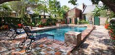 Reserve Audubon Cottages New Orleans at Tablet Hotels an     Oasis of a courtyard, is my idea of PARADISE!