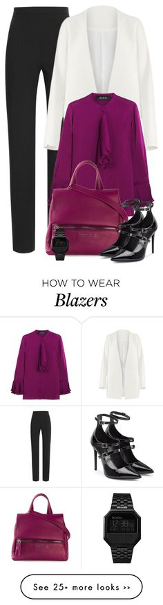 """12:38"" by cherieaustin on Polyvore featuring Tamara Mellon, Non, Gucci, Givenchy and Nixon"