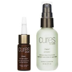 Cures by Avance Dry Skin Serum and Activator 2 oz. by Cures by Avance. $31.75. Nourishes and replenishes. Softens fine lines and other signs of aging. Restores radiance with hydration. Great for dull and mature skin types. Promotes a healthy radiance. The Dry Skin Serum and Activator set features two formulations for replenishing hydration and diminishing visible signs of aging. Using a blend of lemon, rosewood, juniper, vetiver and basil oils, the Dry Skin Serum and Act...