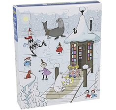 Moomin Advent Calendar with Plastic Figures Christmas 2016 Martinex FINLAND *** See this great product.