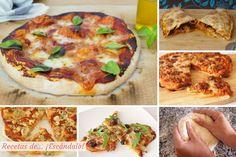 En casa nos encanta la pizza, yo diría que desde siempre pero más especialmente desde que la preparamos totalmente casera, la masa y todo, ya que da un juego tremendo y, no se cómo sucede, pero siempre siempre está de… ¡escándalo! Hay pizzas para todos los gustos y quizás ahí esté su éxito: solo con...
