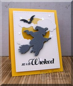 Lil' Inker Designs & Alyssa Scritchfield Rainbows & Clouds Die Set, Bats & Broomsticks Stamps and Dies, Stitched Mats: Rectangles, Starry Sky Die