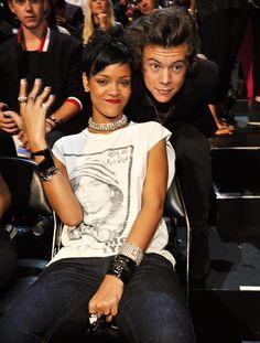 Rihanna and Harry styles