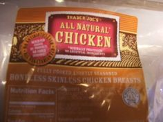 You can purchase these All Natural Fully Cooked Chicken Boneless Skinless Chicken Breasts - fully cooked and lightly seasoned from Trader Joes.     I bring them for lunch to work and put over salads. I also make an awesome chicken salad with them. My Husband likes when I put this chicken in pasta dishes.     Eat them cold as a snack… or quickly prepare them in a dish.    Located in the refrigerated section - NOT frozen.