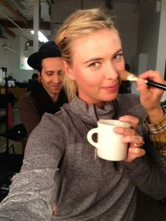Maria Sharapova selfie