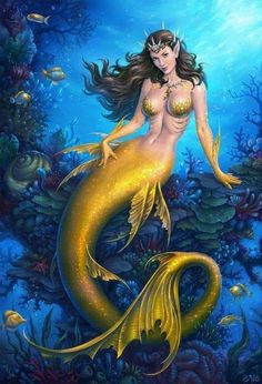 Mobius Final Fantasy - Mermaid by anotherwanderer on DeviantArt Fantasy Girl, Fantasy Mermaids, Mermaids And Mermen, Fantasy Women, Real Mermaids, Mermaid Artwork, Mermaid Drawings, Mermaid Tattoos, Mermaid Paintings
