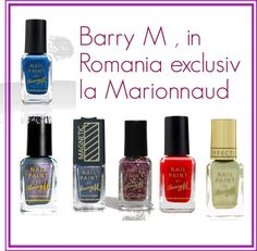 """Barry M in Romania"" by anamariatatucu on Polyvore"