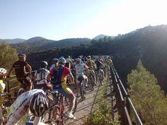 la Spoleto-Norcia ...in mtb, sport e turismo in Umbria Sul Ponte di Cortaccione