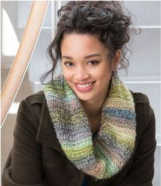 If you need a fall and winter accessory to wear all the time, this Everyday Crochet Cowl is definitely the next pattern you should work up. Made with Red Heart Boutique Treasure in Watercolors, this stunning cowl will have heads turning.