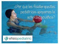 Post donde Ascención Martñin nos habla sobre la actividad acuática  para niños con diversidad funcional