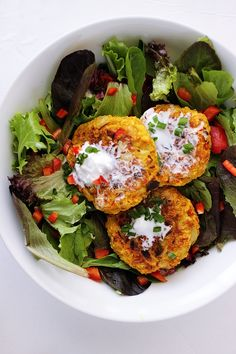 Cauliflower Chickpea Patties Healthy Vegan Chickpea Patties Recipe! More
