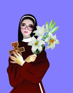 Login to Schoology Santa Clara, San Francisco, Snow White, Disney Characters, Fictional Characters, Disney Princess, Catholic Art, Saints, Nun