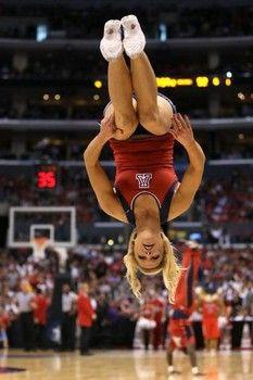 Arizona Wildcats Cheerleader