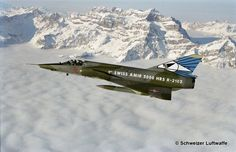 Mirage lll RS R-2103 Luftwaffe, Military Weapons, Military Aircraft, Air Fighter, Fighter Jets, Fun Fly, Swiss Air, Air Machine, Old Planes