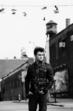 Daniel Radcliffe, ladies! Sizzling as usual.
