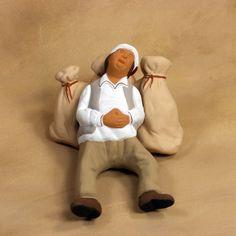 Christmas Nativity, Backrest Pillow, Miniature Dolls, Creations, Miniatures, Sculpture, Pillows, Inspiration, Spun Cotton