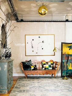 An eclectic industrial loft in Madrid