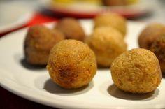 COCINAR PARA NUTRIR: Croquetas de bulgur y chirivía