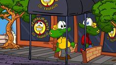 Sapo Brothers e Frango de dentadura em: O restaurante do Frango