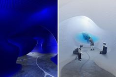 kristian terziev designs complex to exhibit the art of diving in bulgaria