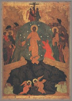 ICON; State Russian Museum, Sankt Petersburg, 1405-1504
