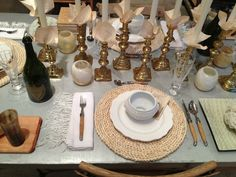 A Table in Whites, Creams & English Brass | tedkennedywatson.com