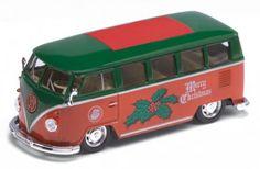 Volkwagen Bus in kerstsfeer!