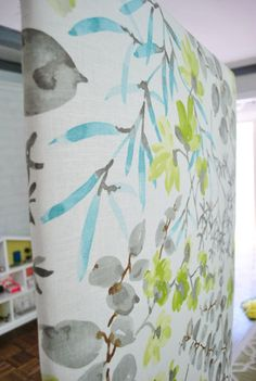 How to make fabric headboard for bed. Young House Love