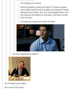 Head canon Sooooooo accepted!! Also poor Adams haha!!