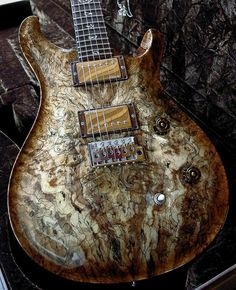 "PRS guitars ~ Private Stock ~ Incredible woods in their ""Private Stock"" line of guitars ~ Here is their website link to see more of their works > http://www.prsguitars.com/privatestock/ ~"