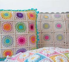 Crochet Pillows - Patterns
