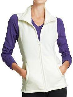 Women's Micro Performance Fleece Vests | Old Navy