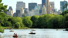 Boating on Central Park © Brian D. Bumby/Getty