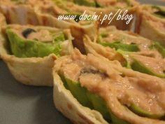 Mini Wraps com Pasta de Atum
