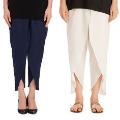 Oshi.pk is bringing a deal of Cotton Tulip Pant For Women (Pack Of 2)  in such low, reasonable and affordable price which you can't resist. So what are you waiting for? Come and grab this amazing product only at Oshi.pk!