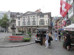 Fontes muitas fontes em Zurique - Viagem com Sabor