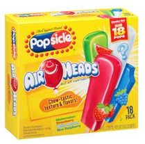 The Original Brand Popsicle Air Heads Ice Pops - Cereal Recipes, Candy Recipes, Strawberry Dream Cake Recipe, Airheads Candy, Toy Cars For Kids, Snack Items, Junk Food Snacks, Candy Brands, Sour Candy