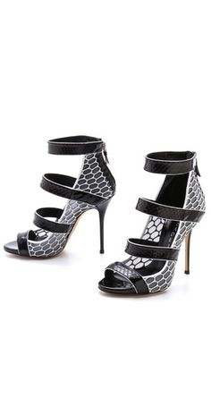 Casadei Strappy Stiletto Sandals | SHOPBOP