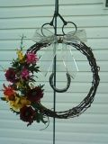 my barbwire wreath