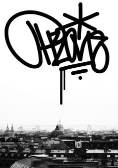 Nice concept mixing handstyle & photography.