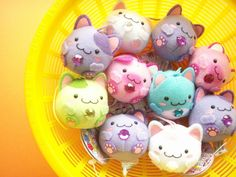 If you read the comments in flickr, Kawaii Japan links to her shop, which is full of awesome and cute :)