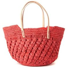 Aix Tote Coral now featured on Fab.