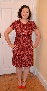 Poppy print Megan dress