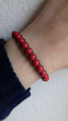 Check out this item in my Etsy shop https://www.etsy.com/listing/595166391/beautiful-coral-bracelet-boho-style