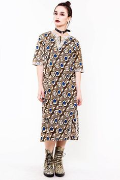 Safari Camouflage Dress - L/XL