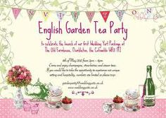 35 best garden party images on pinterest garden party invitations