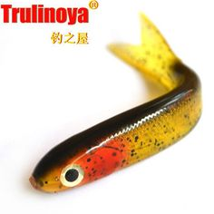 Aliexpress.com : Buy 95mm 6.5g 9pcs/lot 3D Hollow Lure Promotional New 2014 Trulinoya Fishing Bait Soft Bait Shad Fly Fishing Tackle Free Shipping from Reliable Fishing Lures suppliers on Piscifun Fishing Tackle