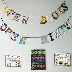 One of our favorite spots in our classroom is definitely the book nook📚 Love the banner I found from @zulily 💖